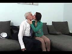 Bus, Grandpa, Innocent young girl and step dad, Txxx.com