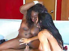 Boots, Interracial, Threesome, Boots stocings, Xhamster.com