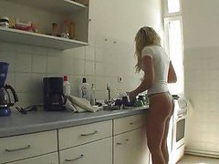Kitchen, Mother amp son in kitchen, Xhamster.com