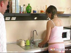 Kitchen, Wife in kitchen, Xhamster.com