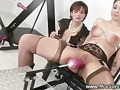 Gagging, Machine, Amateur wife rides machine, Pornhub.com