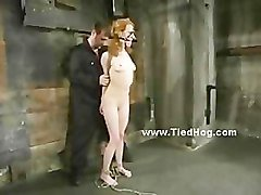 Bondage, Tied, Redhead, Tied and ingered, Pornhub.com