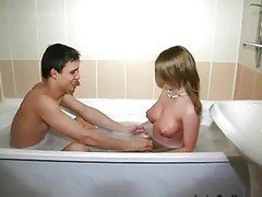 Bath, Bathroom, Teen, Blackmail in bathroom, Xhamster.com