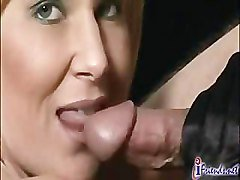 Blonde, Black, Gloves, A blond girl giving handjob with her new gloves, Pornhub.com