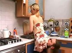 Kitchen, Japan daughter fucked in kitchen, Xhamster.com