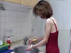 Kitchen, Tara in her kitchen, Xhamster.com
