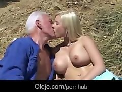 Bus, Blonde, Farm, Farm lads, Pornhub.com