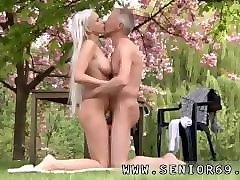 Blonde, Old And Young, Threesome old and young, Pornhub.com