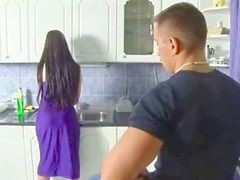 Kitchen, German, Couple, Kitchen bride carnival, Xhamster.com