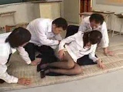 Japanese, Teacher, Girl teacher and schoolgirl, Xhamster.com