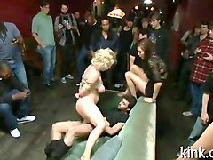 Cuckold humiliated in public, Fapli.com