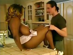Black, Kitchen, Hidden camera kitchen, Pornhub.com