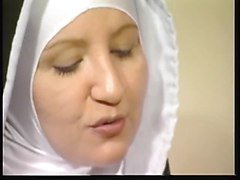 Nun, Naughty nun gets a facial, Xhamster.com