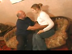 Teen, Old Man, Little girl seduction old man in movie, Xhamster.com