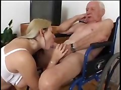Nurse, Old Man, Pretty and old man, Xhamster.com
