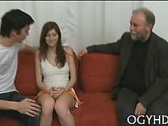 Young guys and grandpa orgy gay, Nuvid.com