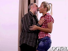 Blonde, Fat, Riding fat guy, Gotporn.com