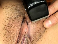 Amateur, Shaving, Japanese mother son gameshow part 1, Nuvid.com